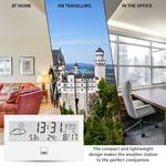 Clatronic WSU7022 weather station with clock white
