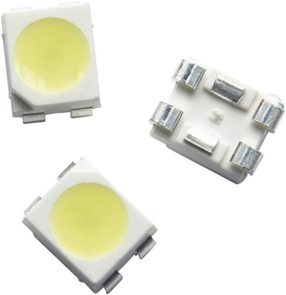 SMD-LED PLCC4 nevtralno bela 120 ° 150 mA 3.6 V Broadcom ASMT-QWBE-NFHDE