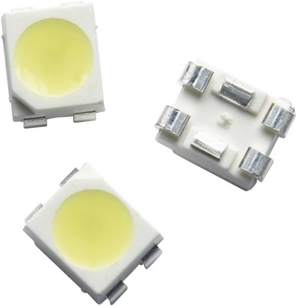 SMD LED Broadcom ASMT-QYBF-NJK0E PLCC4 120 ° Varm hvid