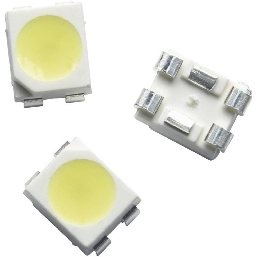 SMD LED Broadcom ASMT-QWBE-NFHDE PLCC4 120 ° Neutral hvid