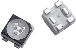SMD LED flerfarvet Broadcom ASMT-QTB4-0AA02 PLCC4 620 mcd, 1200 mcd, 280 mcd 120 ° Rød, Grøn, Blå