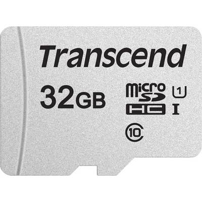 Image of Transcend Premium 300S microSDHC card 32 GB Class 10, UHS-I, UHS-Class 1 incl. SD adapter