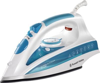 Image of Russell Hobbs Supreme Steam Pro Steam iron White blue 2600 W