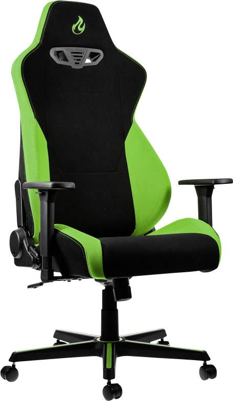 Miraculous Gaming Chair Nitro Concepts S300 Atomic Green Black Green Ibusinesslaw Wood Chair Design Ideas Ibusinesslaworg