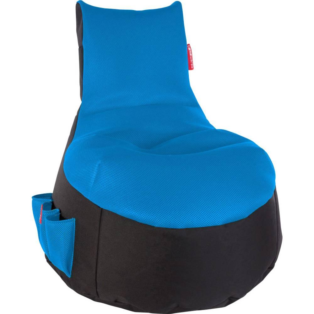 gaming bean bag gamewarez ice black blue from conrad. Black Bedroom Furniture Sets. Home Design Ideas