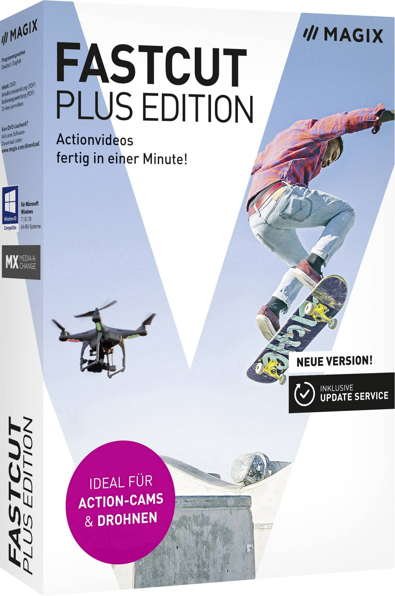 Magix Fastcut Full version, 1 license Windows Video editor