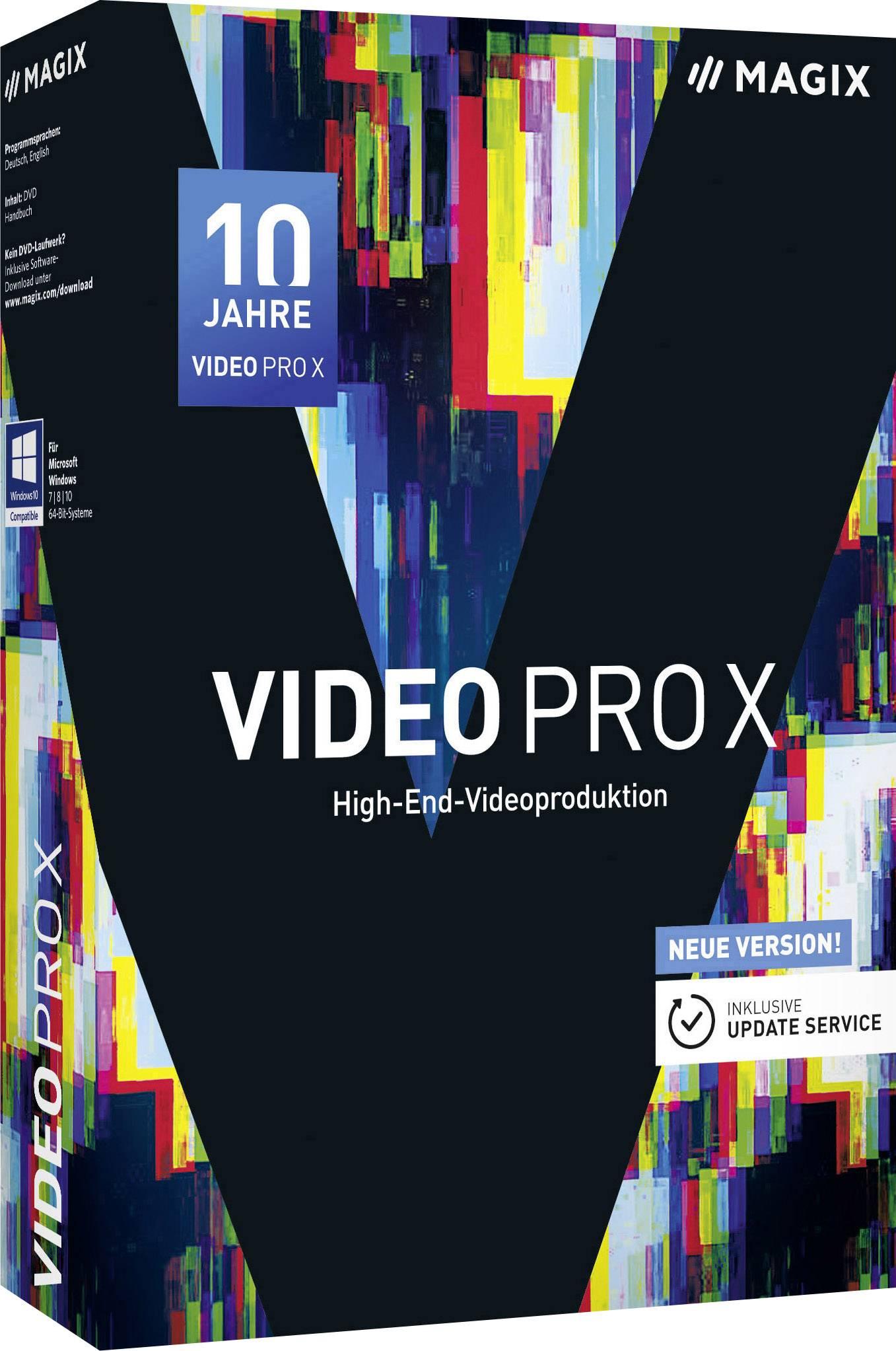 Magix Video Pro X Full version, 1 license Windows Video editor