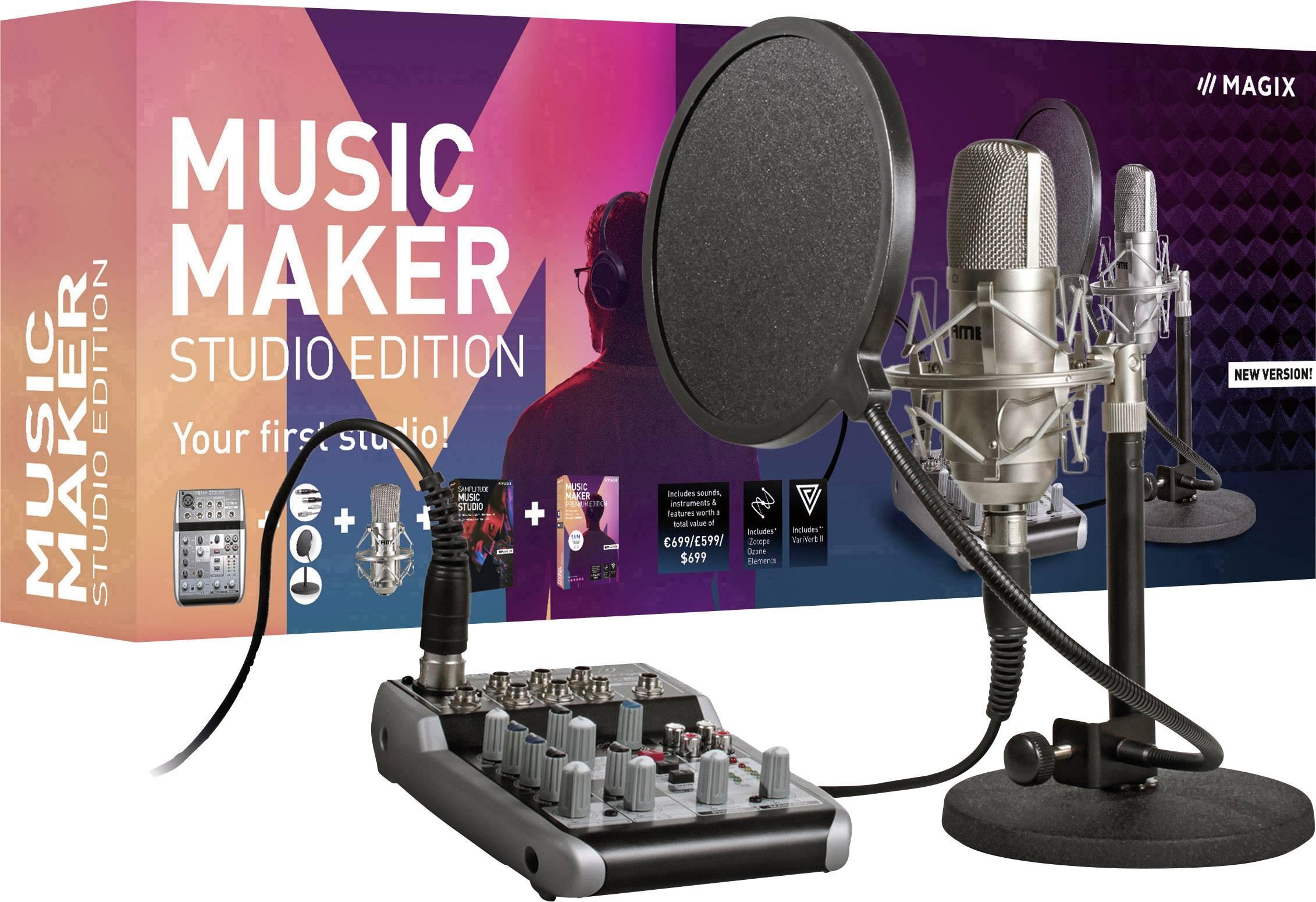 Magix Music Maker Studio Edition Full version, 1 license