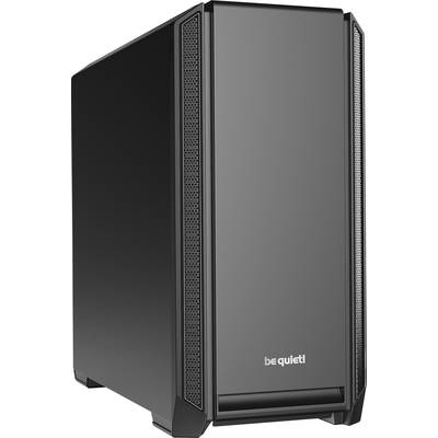 Image of Be Quiet! Silent Base 601 Gaming Case, E-ATX, No PSU, 2 x Pure Wings 2 Fans, PSU Shroud, Black