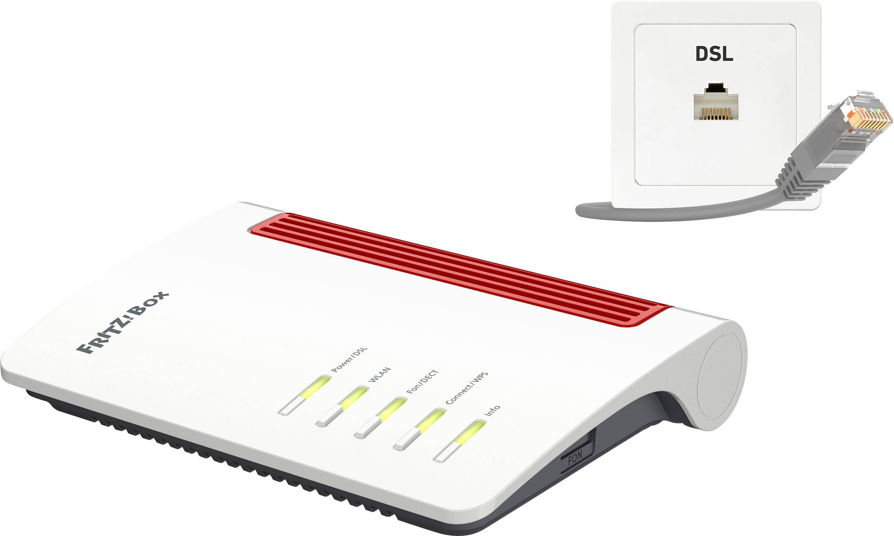 AVM FRITZBox 200 Wi Fi modem router Built in modem ADSL, VDSL 20.20 GHz, 20  GHz 200 Mbps