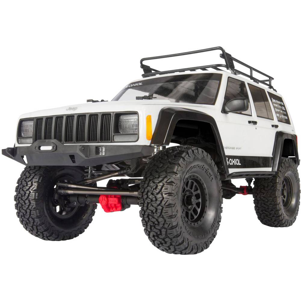 Axial Jeep Cherokee 1 10 Rc Model Car Electric Crawler 4wd Kit