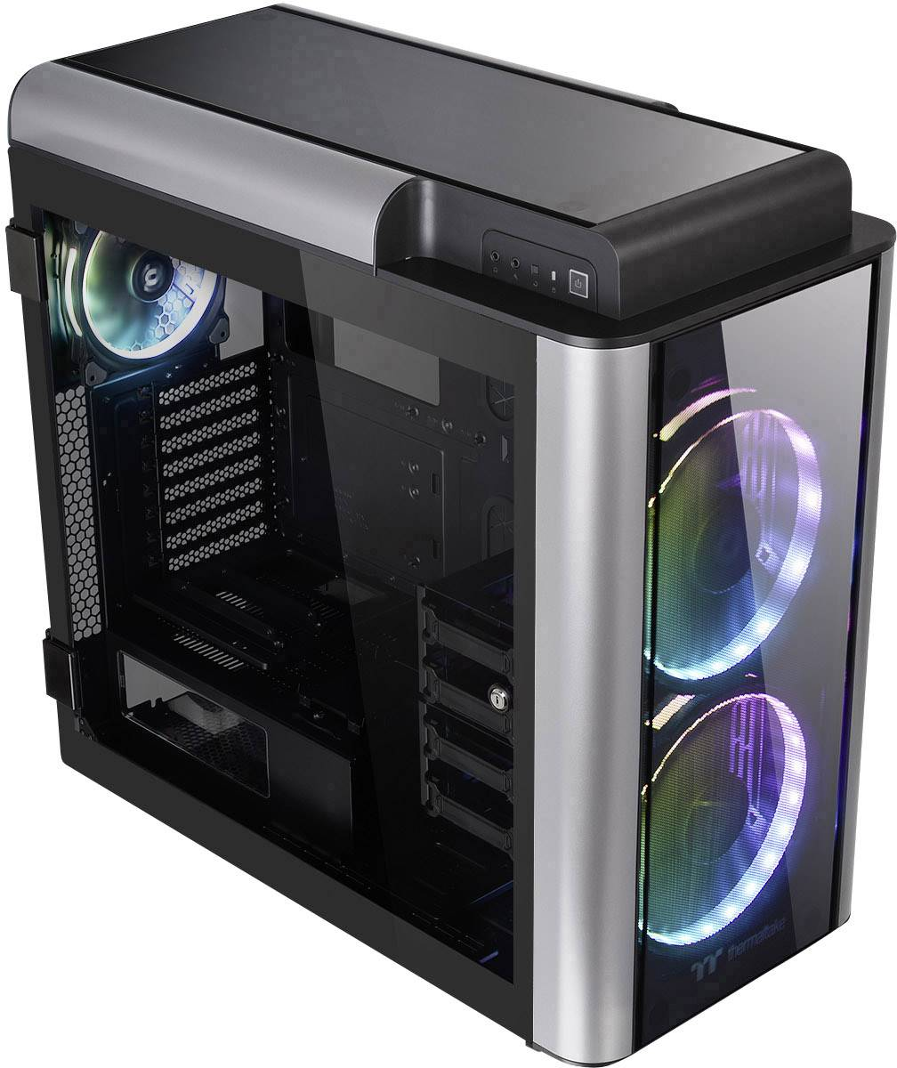 Full tower PC casing Thermaltake Level 20GT RGB Plus Black 3
