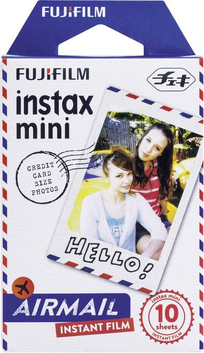 Image of Fujifilm Instax Mini Airmail Instax film