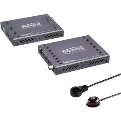 HDMI™ HDBaseT extender via RJ45 network cable Marmitek MegaView 141 UHD 70 m