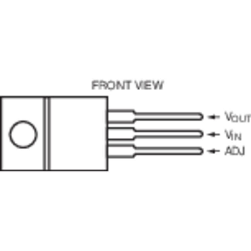 Voltage Regulator Linear Technology Lt1033ctpbf Negative Adjustable 12 V 3 A To 220