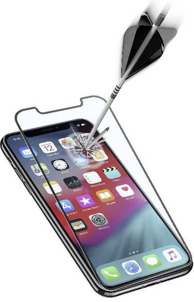 Cellularline Capsule Glass screen Compatible with (mobile phones): Apple iPhone XS Max 1 pc(s)
