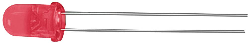 Ožičena LED dioda, rdeča, okrogla 3 mm 600 mcd 50 ° 20 mA 1.85 V Kingbright L-934SRC-D