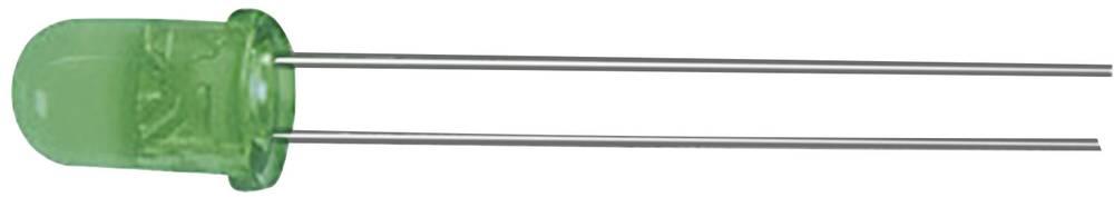 Ožičena LED dioda, zelena, okrogla 5 mm 40 mcd 60 ° 20 mA 2.2 V Kingbright L-53SGD