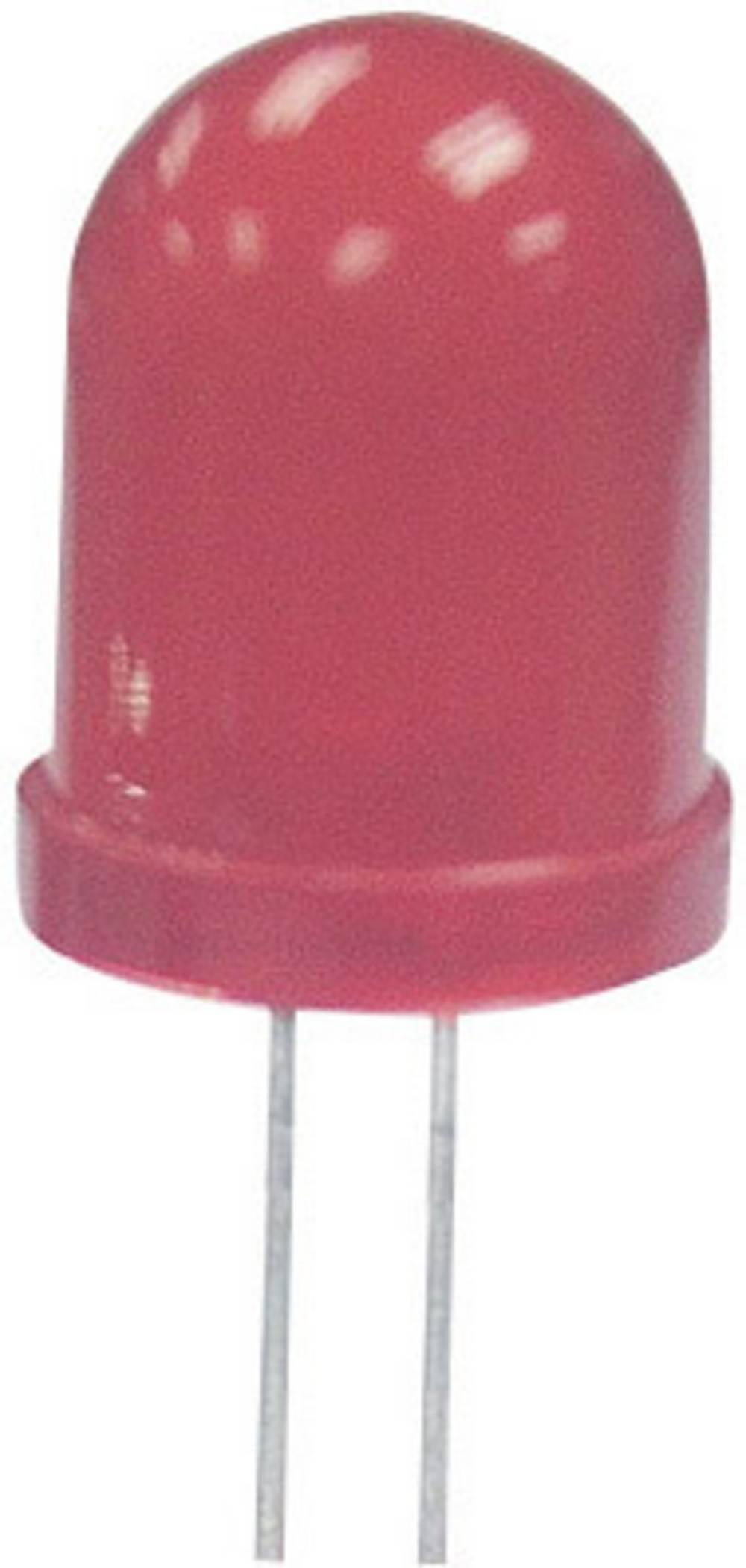Ožičena LED dioda, zelena, okrogla 8 mm 300 mcd 40 ° 20 mA 2.2 V Kingbright L-793SGC