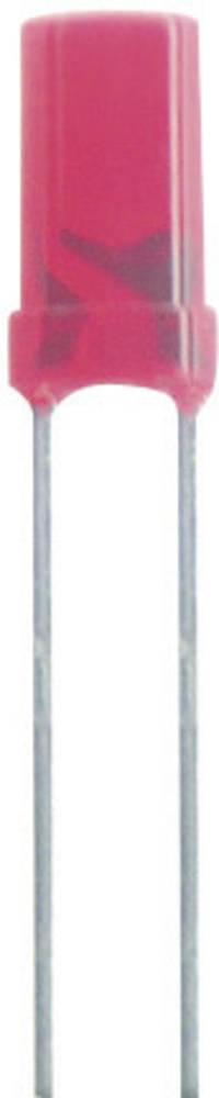 Ožičana LED dioda, crvena, cilindrična 5 mm 5 mcd 100 ° 20 mA 2 V Kingbright L-483IDT