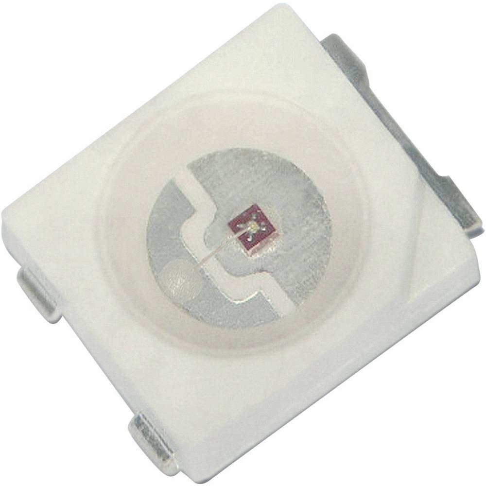 SMD-LED PLCC2 rumena 3000 mcd 120 ° 150 mA 2.8 V Kingbright KA-3529SYS-L