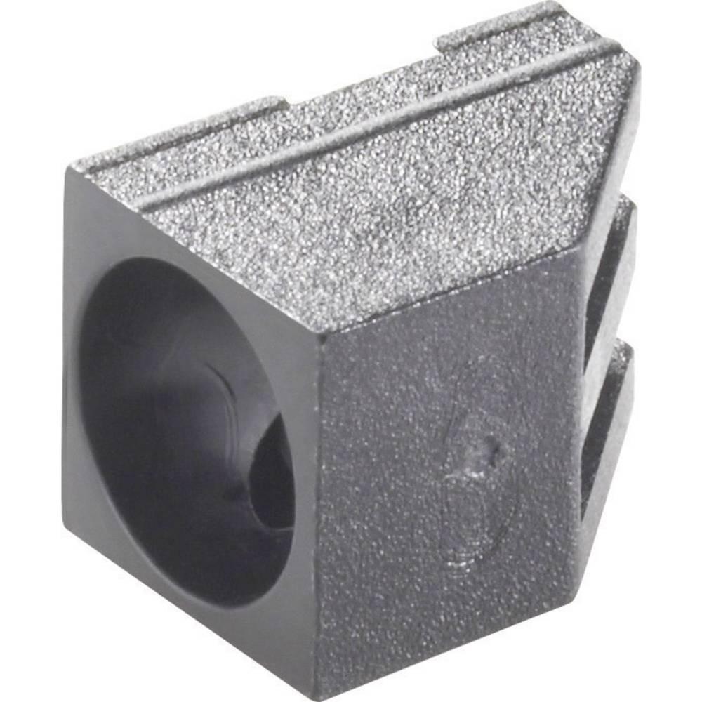 LED-fatning Polyamid Passer til LED 5 mm Richco LEDH-909-235