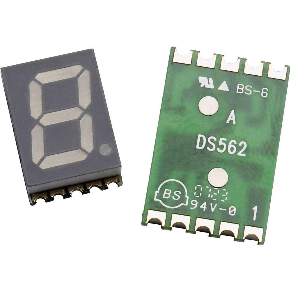 7 segmentni prikaz, oranžna 10 mm 2.1 V št. številk: 1 Broadcom HDSM-431L