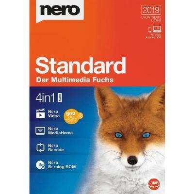 Image of Nero Standard 2019 Full version, 1 license Windows CD/DVD creator