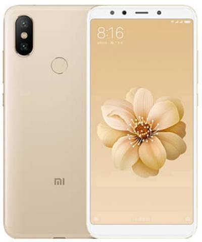 Image of Xiaomi Mi A2 4GB/32GB Dual Sim SIM FREE/ UNLOCKED with 3D Curved Premium Tempered Glass Screen Protector (Black Edge) - Gold