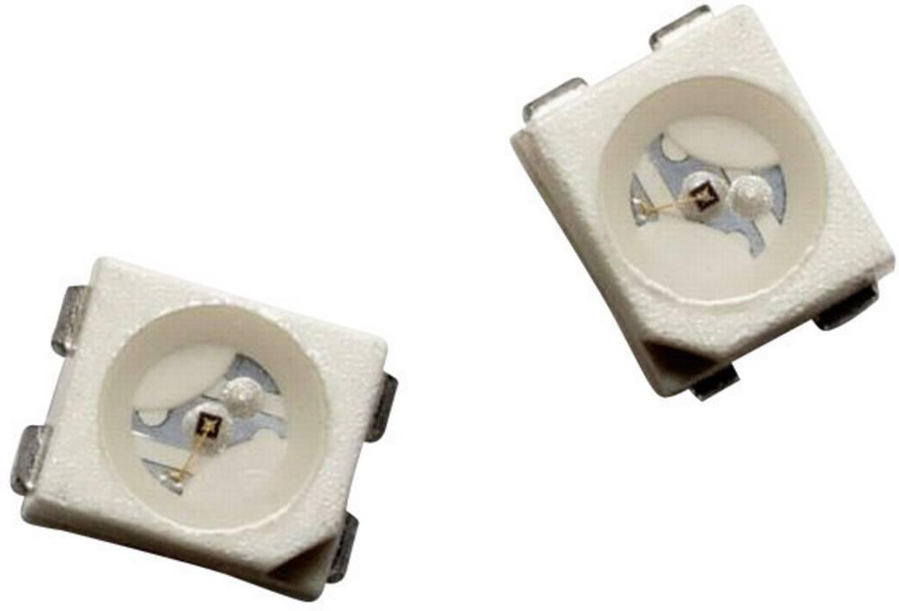 SMD-LED PLCC4 oranžna 400 mcd 120 ° 50 mA 2.2 V Broadcom HSML-A401-U40M1