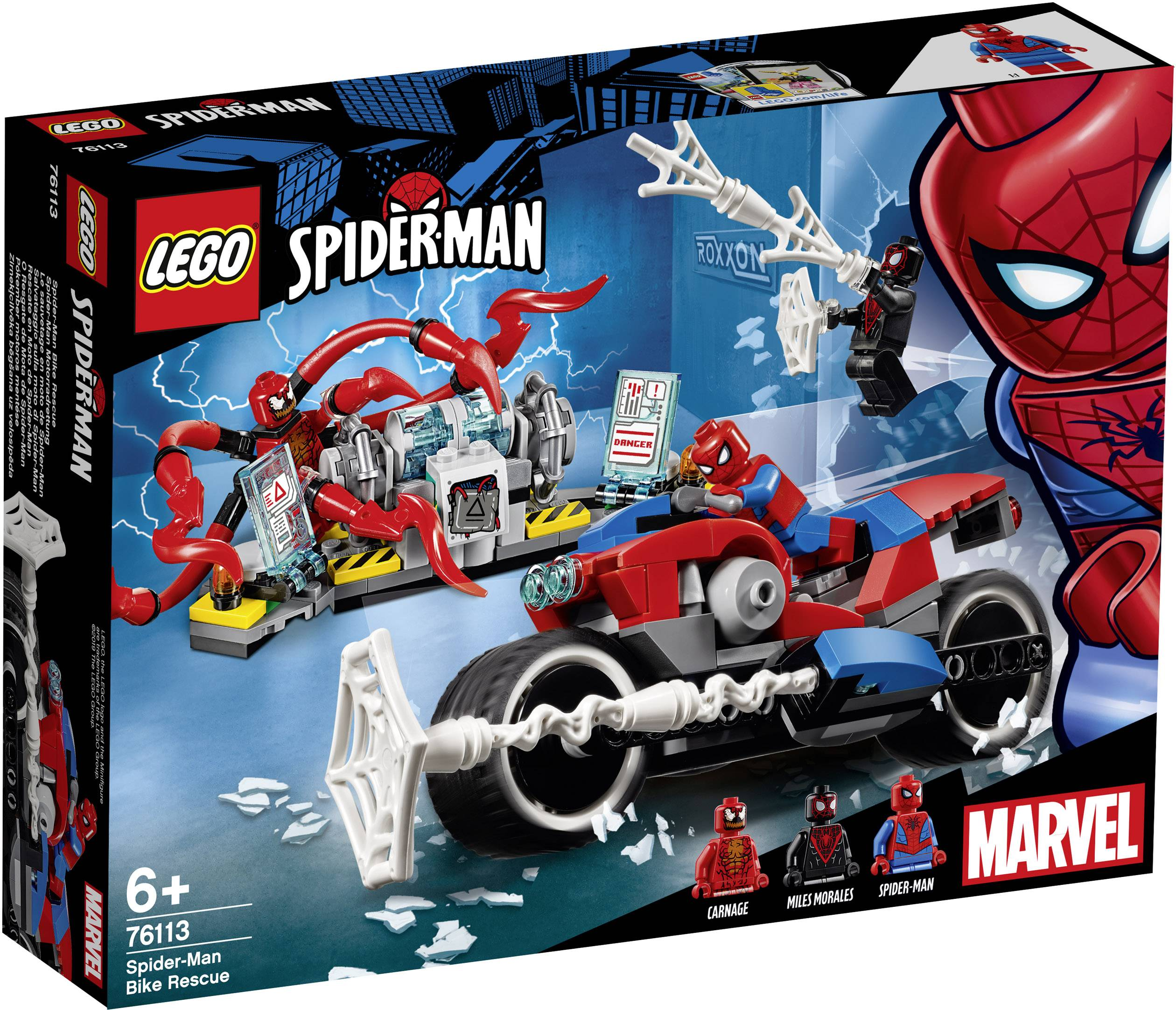 Lego Marvel Super Heroes 76113 Spider Man Motorcycle Rescue