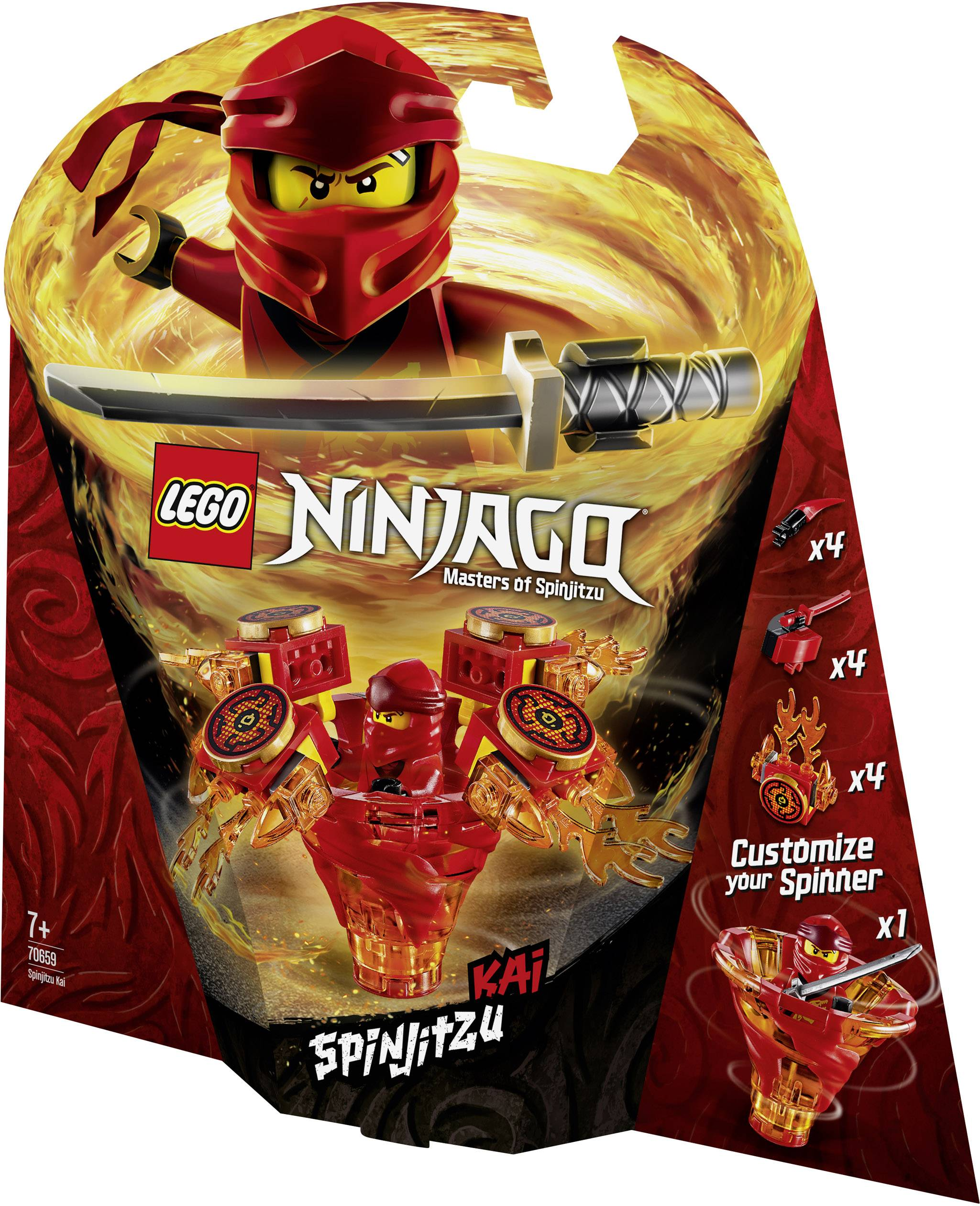 LEGO® Ninjago® Spinjitzu Kai 70659