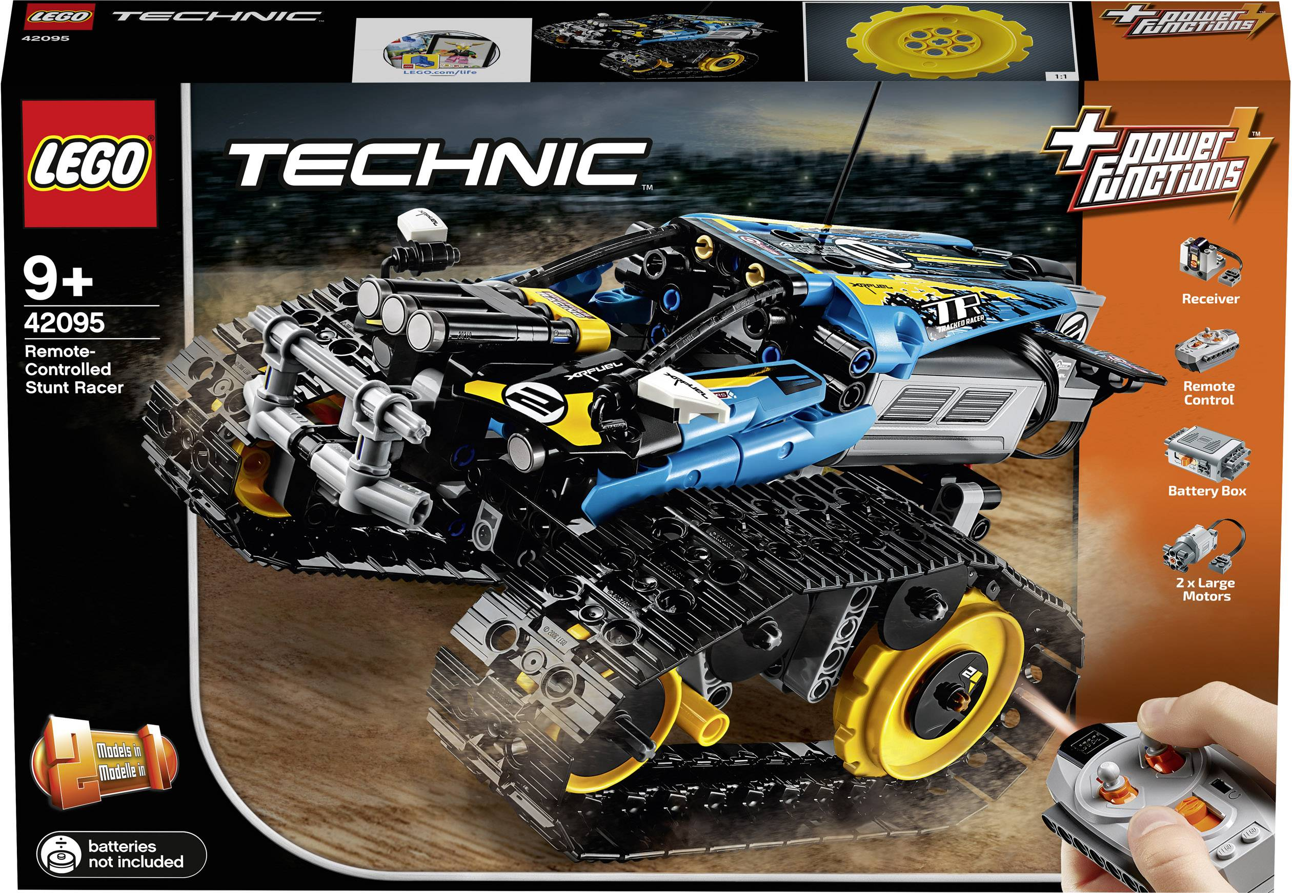 Remote-Controlled Stunt Racer LEGO Brand New LEGO-42095