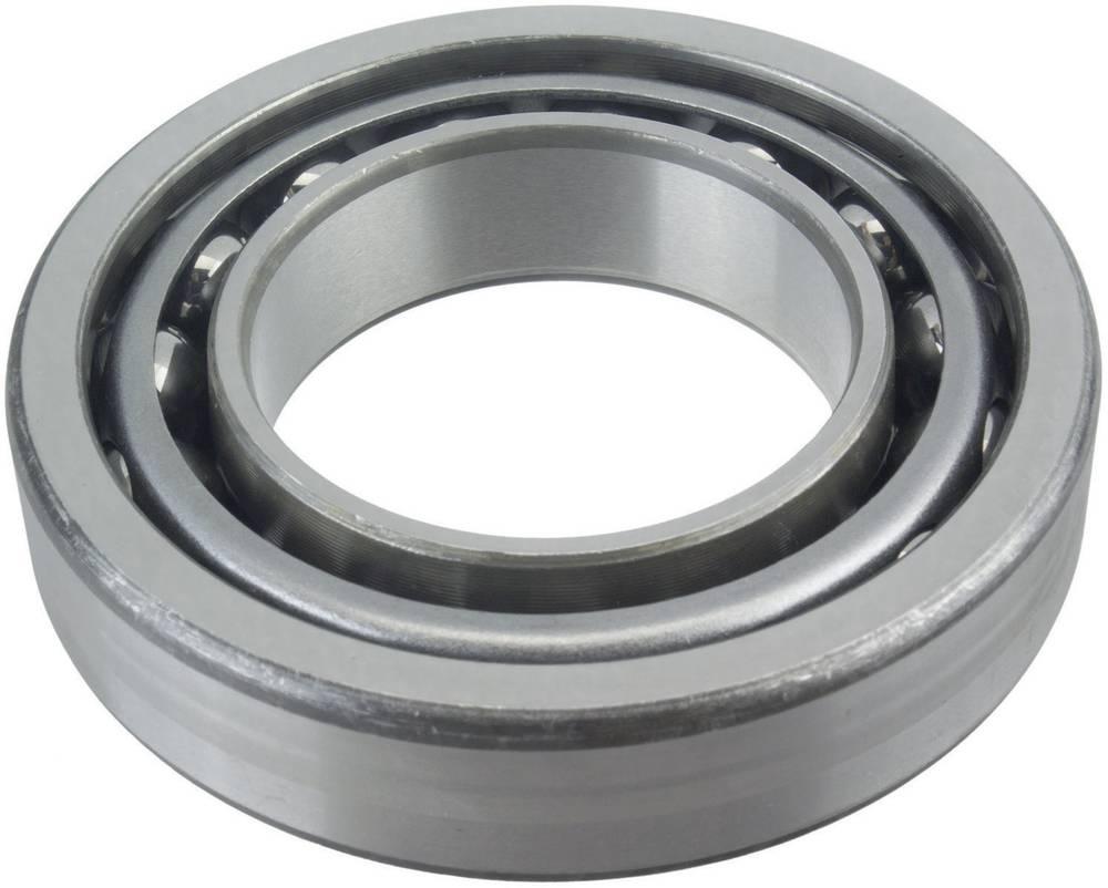 Jednoredni kuglični ležaj s kosim dodirom FAG 7214-B-MP-UA promjer provrta 70 mm vanjski promjer 125 mm broj okretaja (maks.) 56