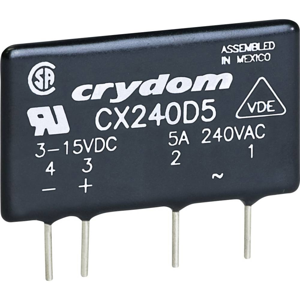 Crydom Cx380d5 Solid State Sip Pcb Load Relay From