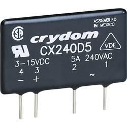 Halvlederrelæ 1 stk Crydom CXE240D5 Last-Strøm (maks.): 5 A Koblingsspænding (max.): 280 V/AC Vekslende ved nulspænding