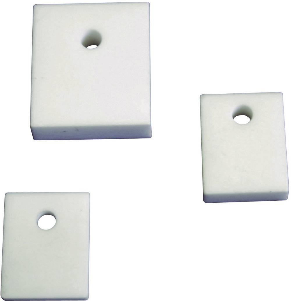 Izolirna plošča (D x Š) 23 mm x 20 mm primerna za TO-220F QuickCool 5061-00305 1 kos