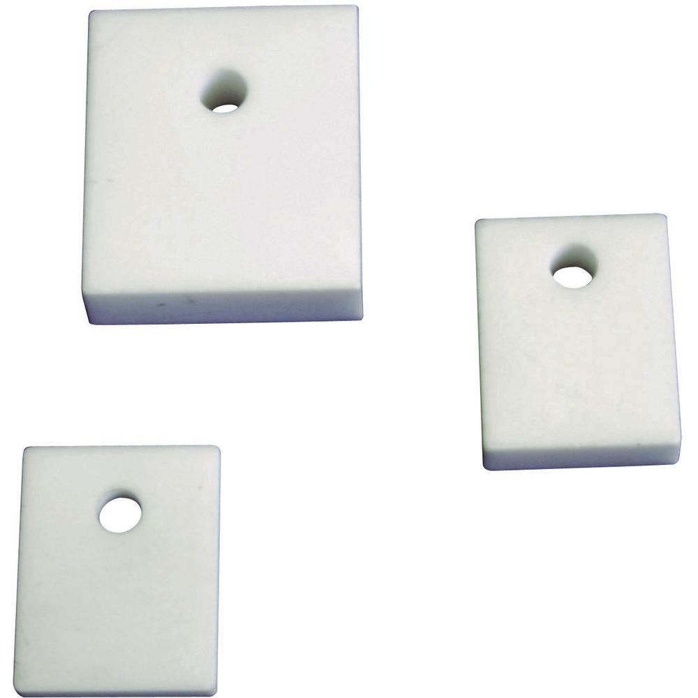Izolirna plošča (D x Š) 18 mm x 12 mm primerna za TO-220C QuickCool 5061-00545C 1 kos