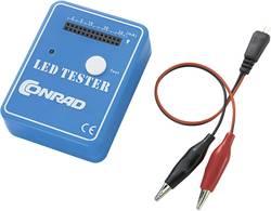 LED tester 9 V/DC primeren za ožičene LED diode, SMD LED Conrad Components