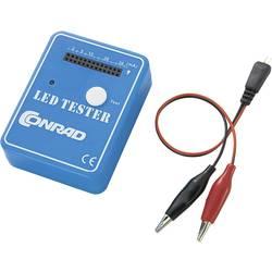 LED-tester 9 V/DC Passer til LED med ledninger, SMD LED Conrad Components ConradLedTester