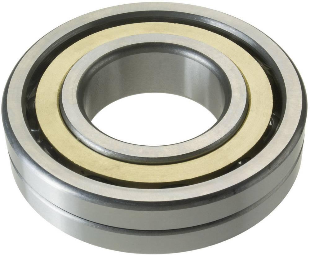Štiri-točkovni ležaj FAG QJ307-MPA vrtina- 35 mm zunanji premer : 80 mm število obratov (maks.) 9500 U/min