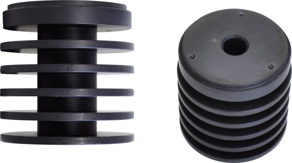 Hladilno telo 4.44 K/W (premer x V) 44 mm x 45 mm Barthelme ALU K2
