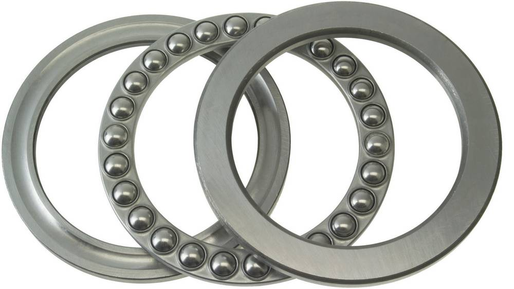 Aksijalni žljebasto-kuglični ležaj FAG 51111 promjer provrta 55 mm vanjski promjer 78 mm broj okretaja (maks.) 5300 U/min
