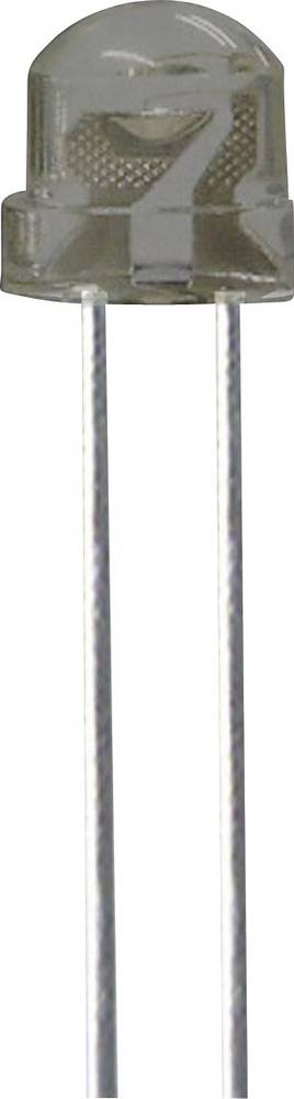 Ožičana LED dioda, zelena, okrugla 5 mm 550 mcd 130 ° 30 mA 3.2 V Kingbright L-9294VGC-A