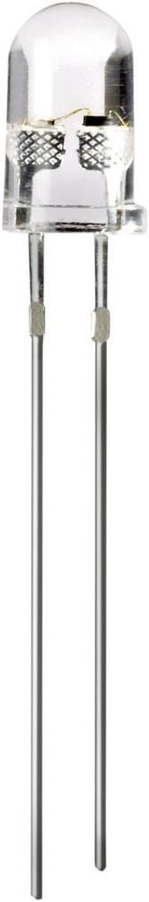 LED med ledninger Thomsen 5 mm 2180 mcd, 6500 mcd 50 ° 20 mA 3.3 V Gul