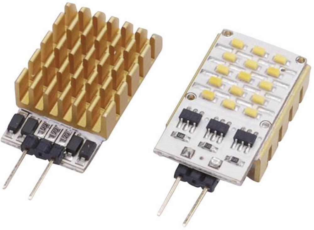 HighPower LED modul, zelena 2 W 130 lm 120 ° 12 V/DC, 12 V/AC ledxon SideLED 2W zelena