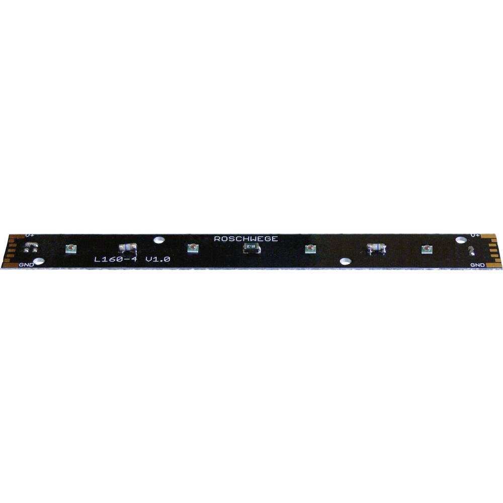 HighPower LED letev, topla bela 376 lm 115 ° 14 V/DC 1000 mA LZH-4W3000K