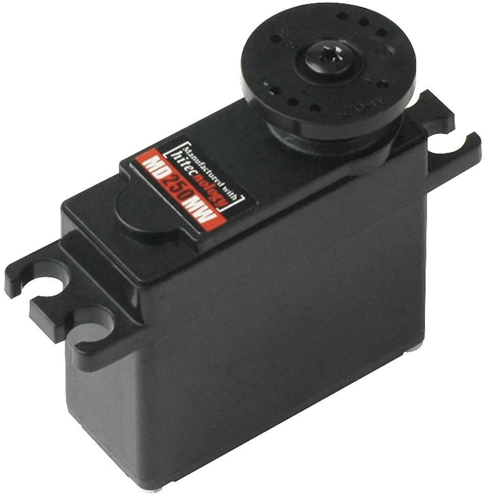 Hitec Mini servo MD250MW Digital servo Gear box material