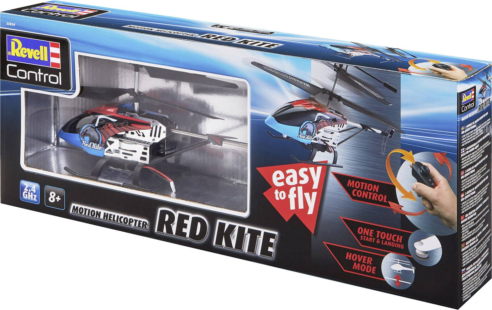 Revell Control Red Kite Rc Model Helicopter For Beginners Rtr Conrad Com