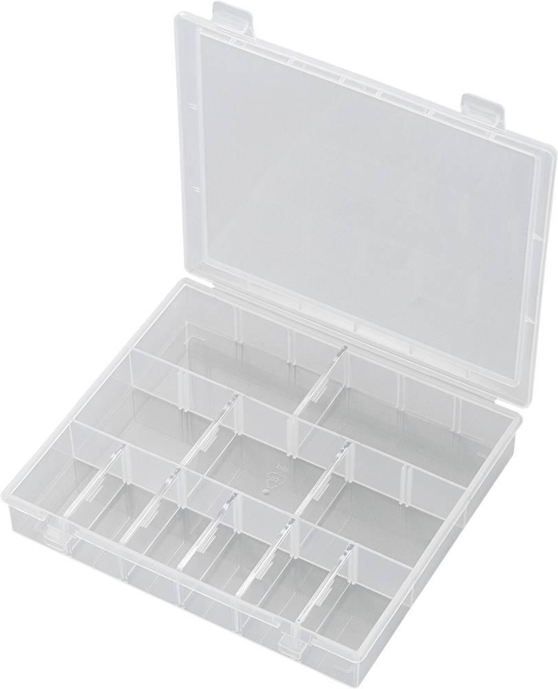 Sortirna škatla (D x Š x V) 170 x 140 x 25 mm SG18-011 št. predalov: 18 nastavljivo pregrajevanje